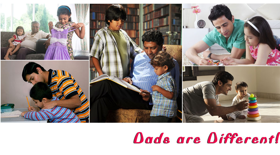 Dads are Different!